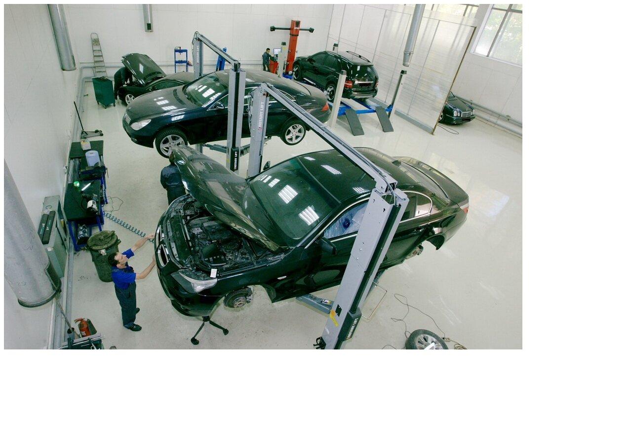 Где отремонтировать автомобиль?